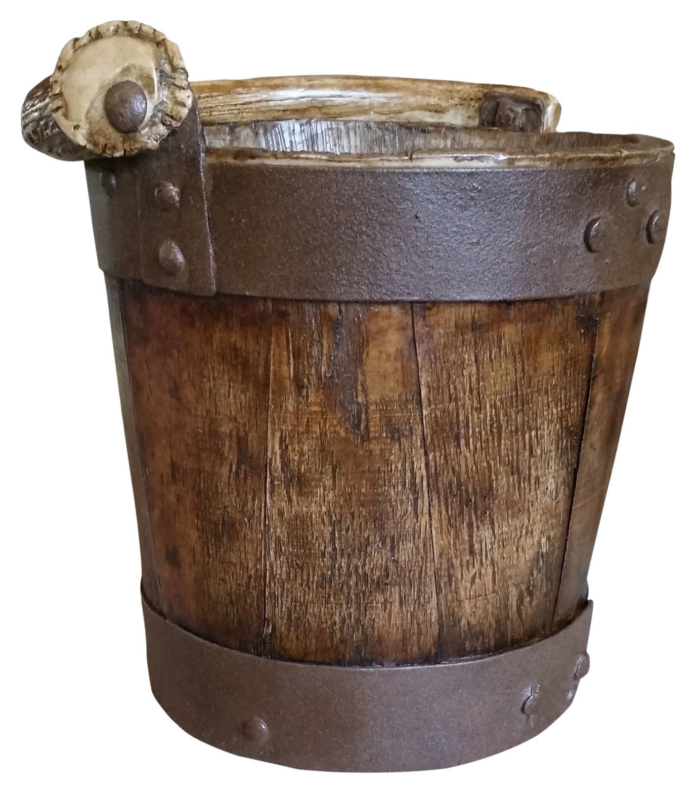 Mountain Mike's Reproductions Well Bucket Waste Basket by Mountain Mike's Reproductions