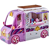 Disney Princess Comfy Squad Sweet Treats Truck, Playset with 16 Accessories, Pretend Ice Cream Shop, Toy for Girls 5 Years Ol