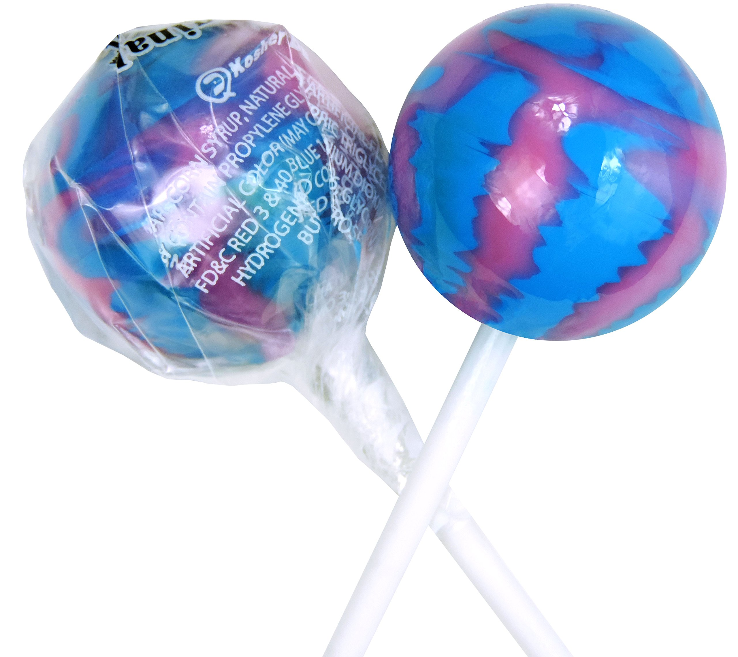Original Gourmet Lollipops, Cotton Candy, 30 Count by Original Gourmet