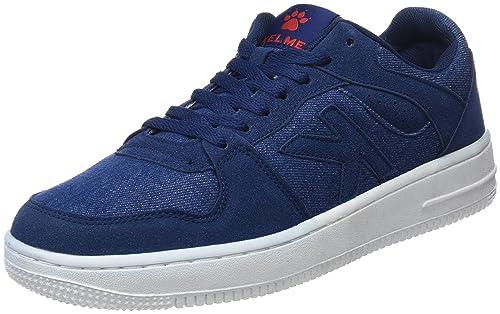 Retrobascket Jeans, Zapatillas Unisex Adulto, Azul (Denim 687), 44 EU Kelme