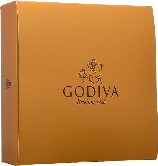 Godiva, Gold Ballotin bombones pralines surtidos 10 piezas, 110g
