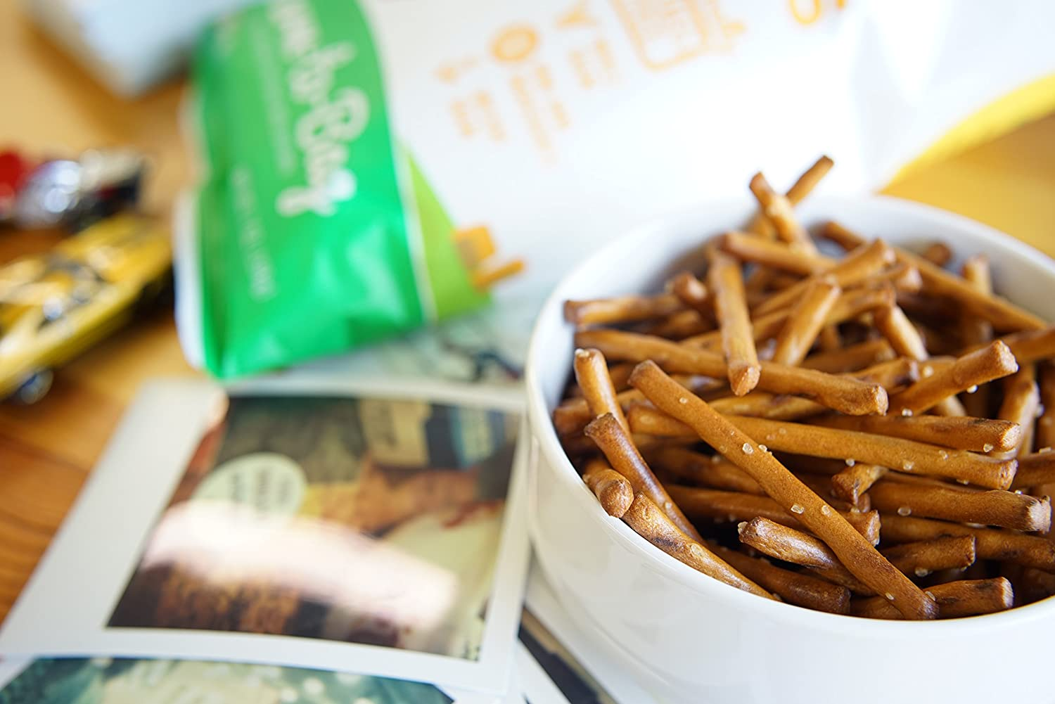 French Fries 2000 150 Gr Quinn Snacks Non Gmo And Gluten Free Pretzels Touch Of Honey 7 Ounce Grocery Gourmet Food