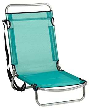 Amazon.com: Alco-660ALF-0030 Aluminium Beach Chair, Fibreline ...