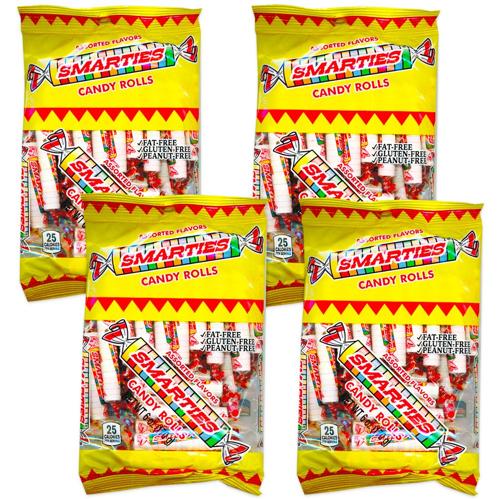 Amazon.com : Smarties Original: 6.0 oz Bag (4 Pack) : Grocery & Gourmet Food