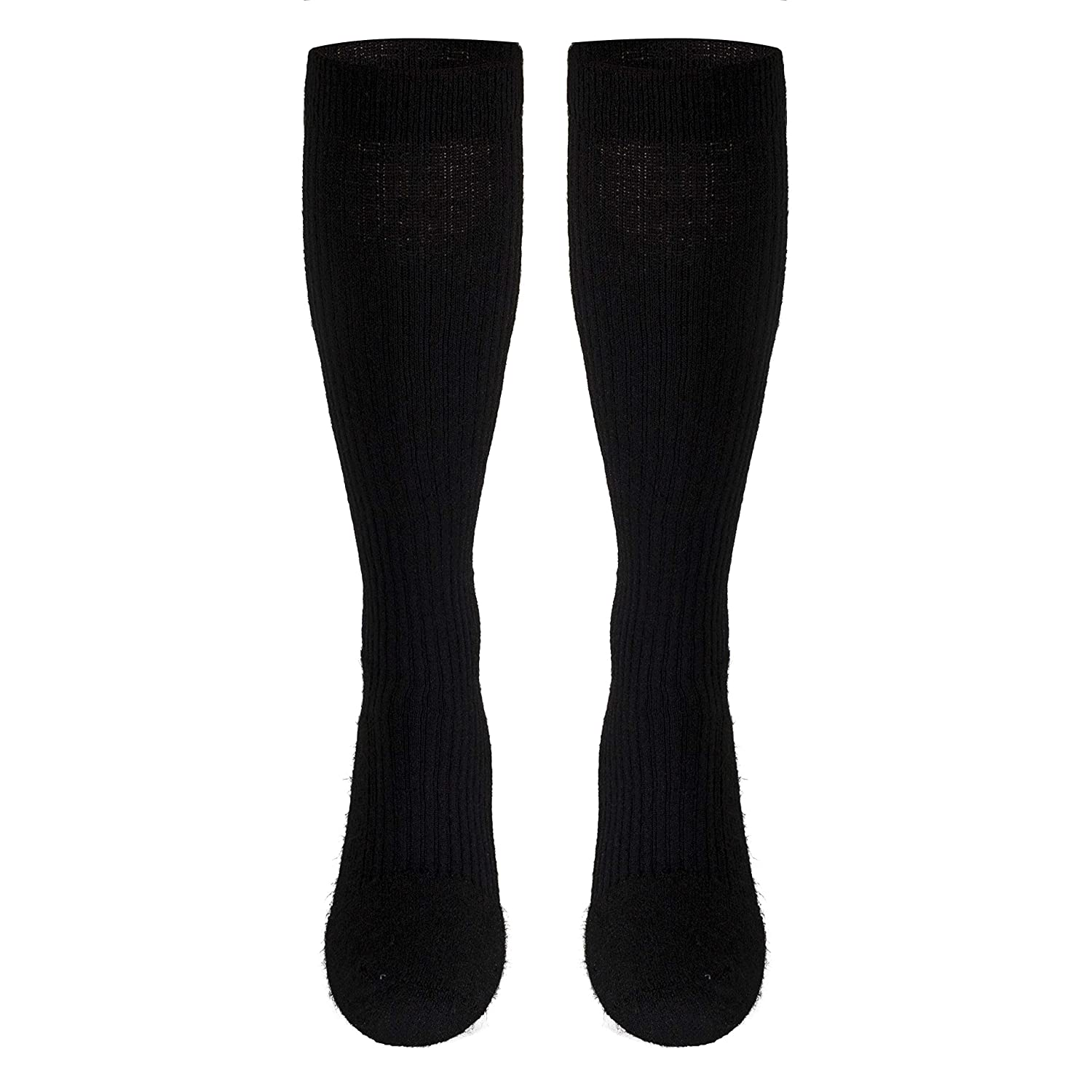 Amazon.com: Truform Compression Socks, 15-20 mmHg, Knee High, Cushion Foot, Black, Large (15-20 mmHg): Health & Personal Care
