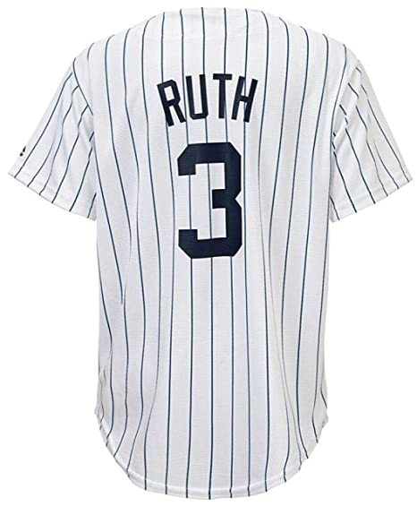 online retailer 4eb6b 54796 Amazon.com: OuterStuff Babe Ruth New York Yankees White ...