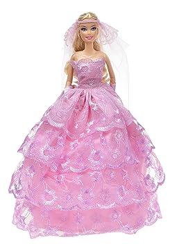 Banana Kong sin tirantes de la muñeca boda/vestido de fiesta vestidos de novia +