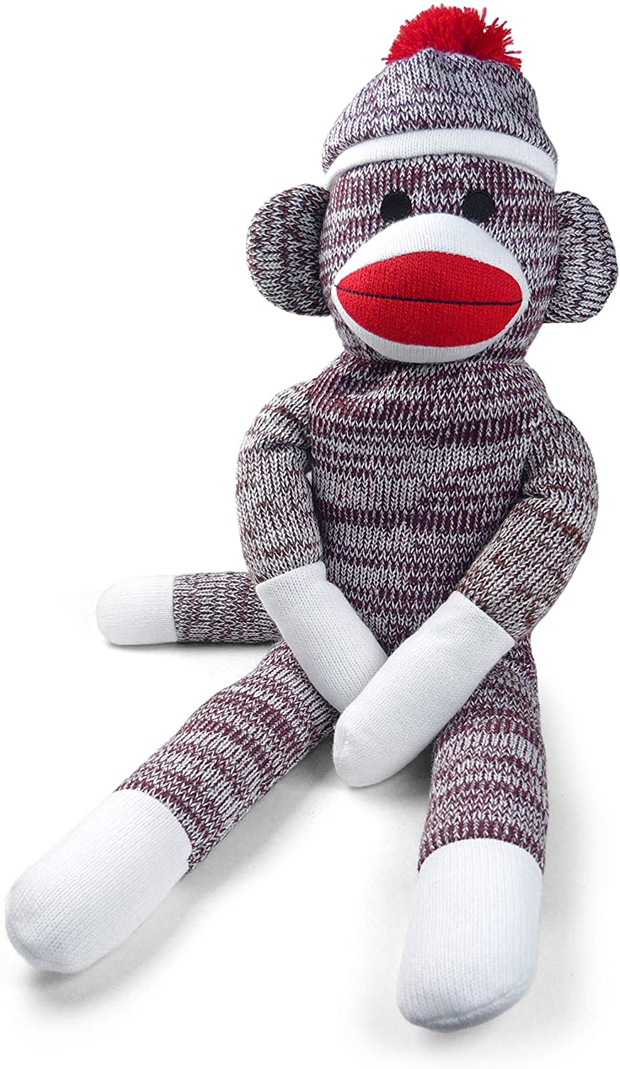 "Pennington Bear Company The Original Sock Monkey, Large, Hand-Knit, Plush Material, 40"" inch"