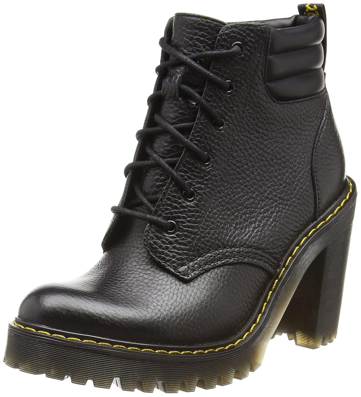 Dr. Martens Women's Persephone Ankle Bootie B01IDYQCT2 9 UK/11 M US|Black