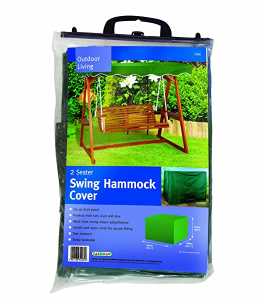 gardman protective swing hammock cover swinging bench cover 2 seater  amazon co uk  garden  u0026 outdoors gardman protective swing hammock cover swinging bench cover 2      rh   amazon co uk