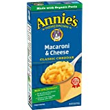 Annie's Classic Mild Cheddar Macaroni & Cheese, 12 Boxes, 6oz (Pack of 12)