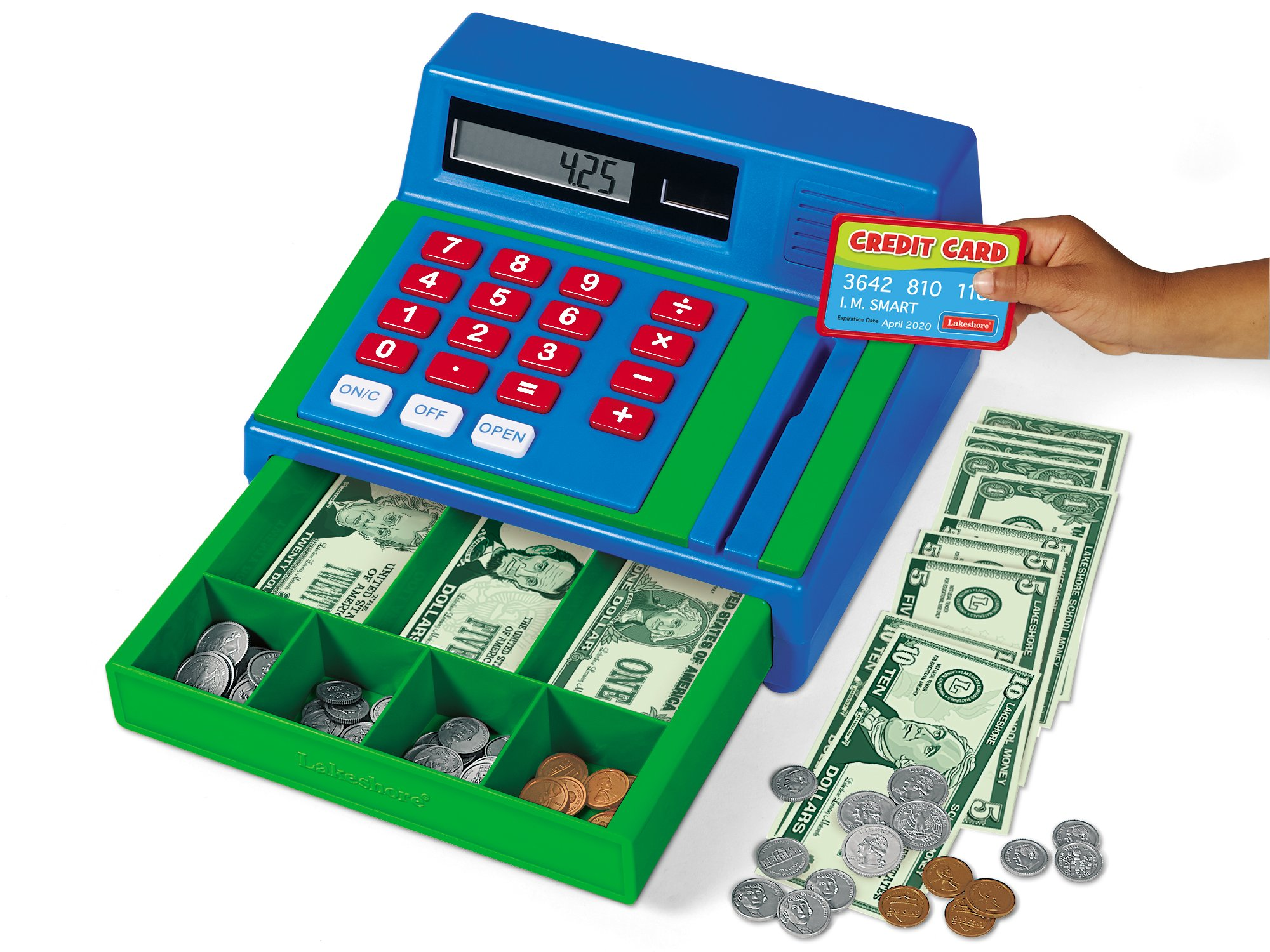 Lakeshore Real-Working Cash Register
