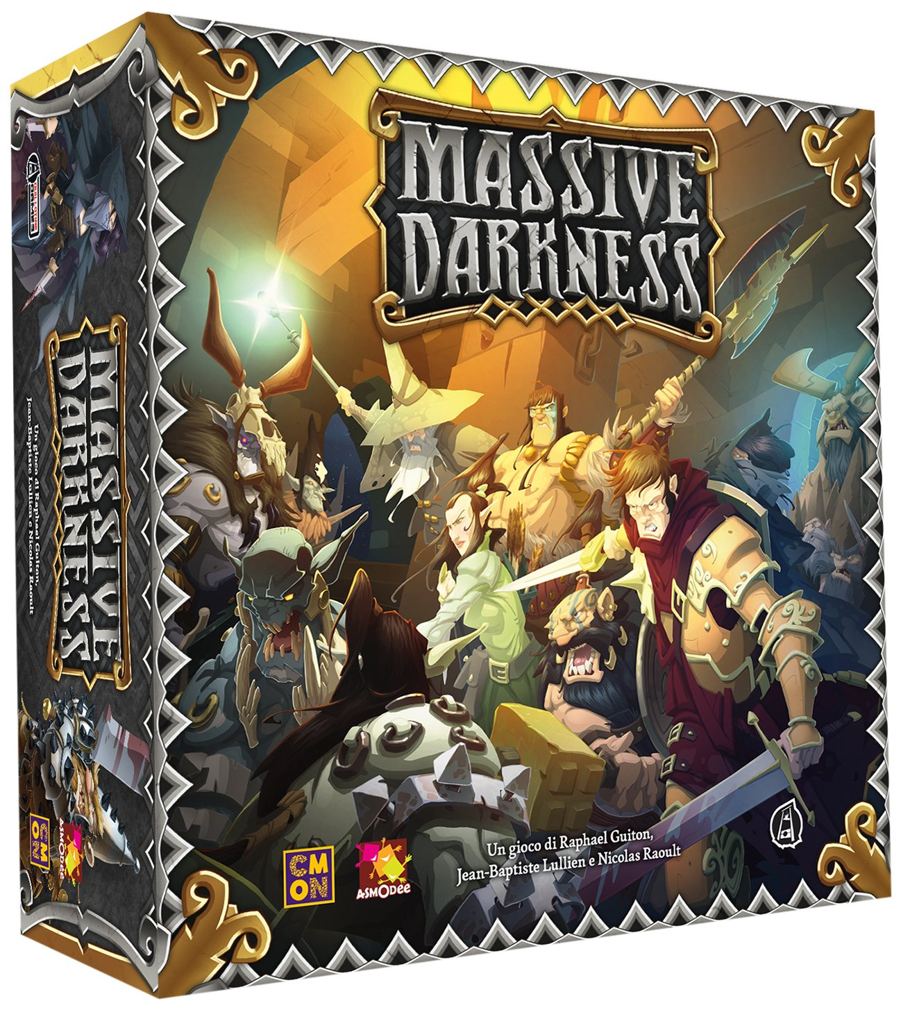 Asmodee Italia 10100 – Massive Darkness Edición Italiana: Amazon ...
