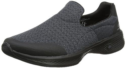 Skechers Go Walk Joy-Gratify, Zapatillas sin Cordones para Mujer, Negro (Black), 37 EU