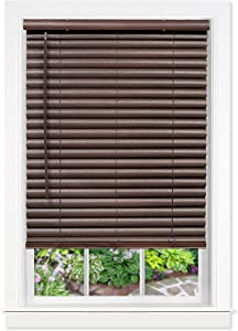 Achim Home Furnishings, Mahogany Cordless GII Luna 2