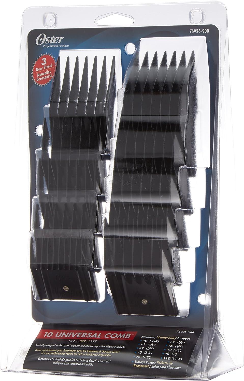 Oster 76926-900 - Set peines para cortapelos, 10 unidades