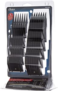 Oster 76926–900–Set Attachment Combs for Hair Clipper, Pack of 10