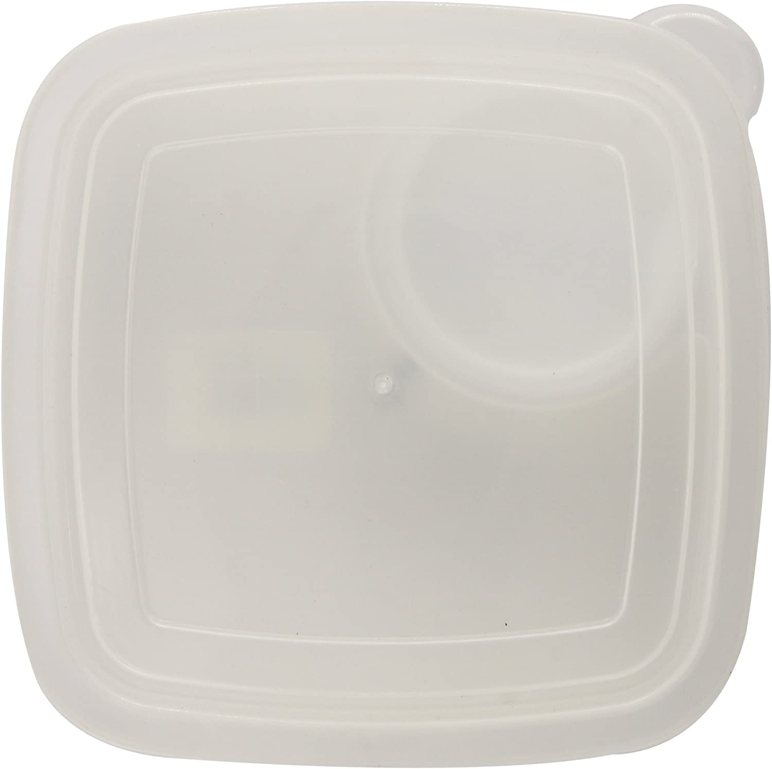 Compac Take A Dip3 Deep Side Clear Food Storage Container with 3oz Dip Section (Pack of 2)