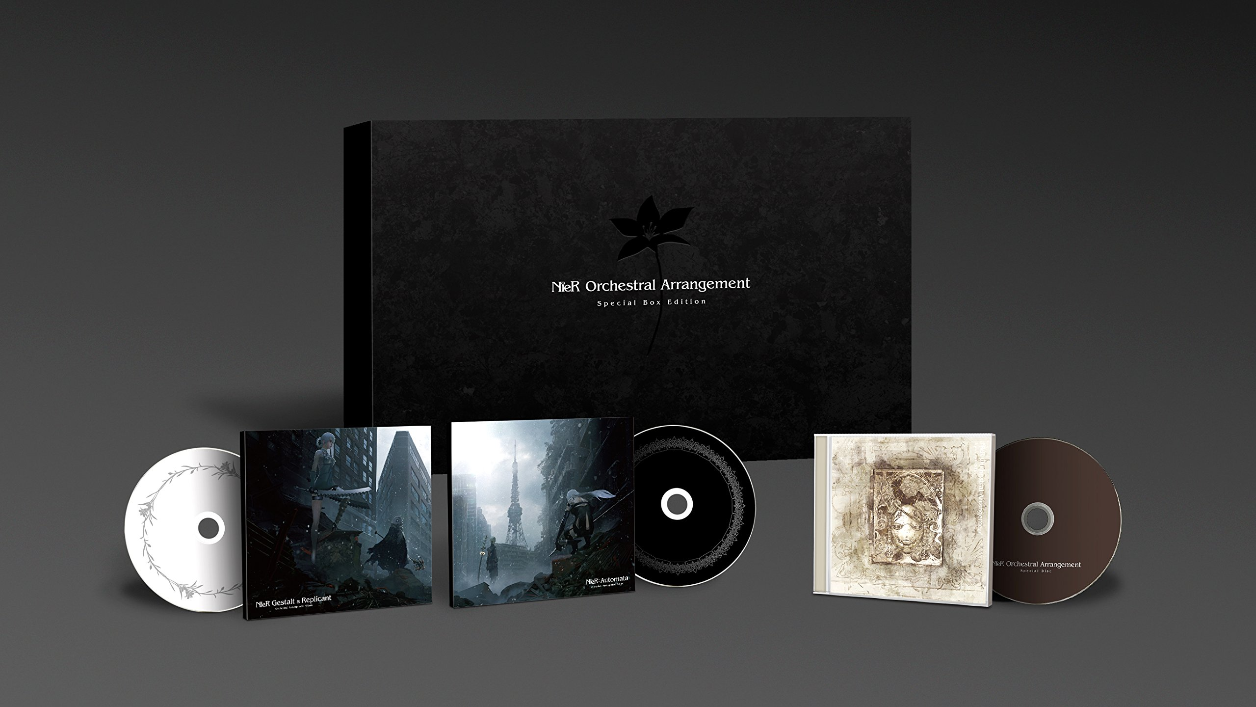 CD : Game Music - Nier: Orchestral Arrangement (original Soundtrack) (Special Edition, Boxed Set, Japan - Import)