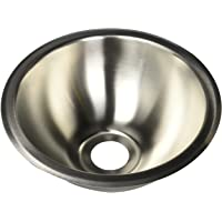 """Heng's (SSRD1022) 10"""" Round Stainless Steel Sink"""