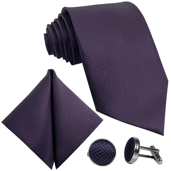 GASSANI - Corbata para hombre (3 unidades, 8 cm de ancho ...