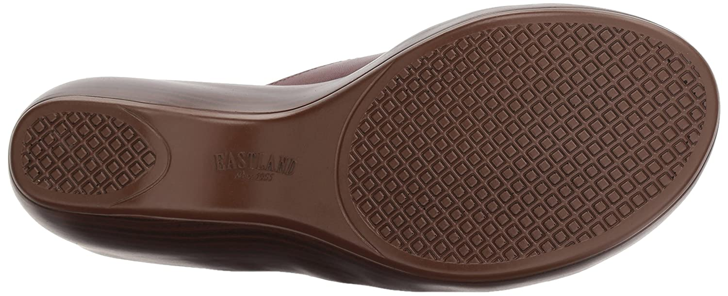Eastland Women's Poppy Sandal B076QHYQV6 10 W US|Cinnamon