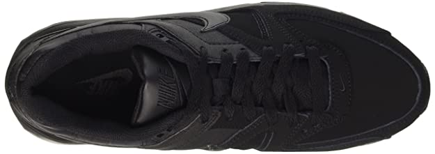 Nike Air Max Command Leder Sportschuhe Herren Größe 44 Schwarz (749760 001)