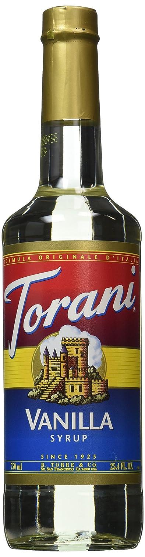 Torani® Vanilla Syrup (750 mL /25.4 oz )