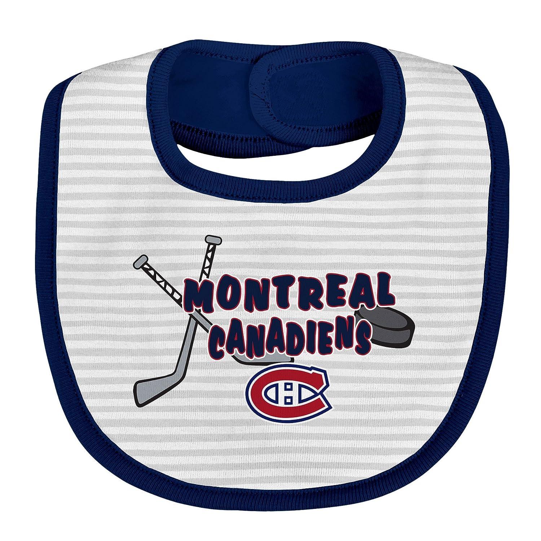 Montreal Canadiens Newborn Fair Shot 3-Pack Bib Set