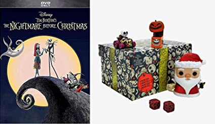 Amazon Com This Halloween Christmas Jack Meets Mr Klaws The Nightmare Before Christmas Dvd Funko Disney Treasures The Nightmare Before Christmas Box 4 Item Exclusive Bundle Tim Burton Movies Tv Jack skellington, the pumpkin king of halloween town, is bored with doing the same thing every year for halloween. funko disney treasures the nightmare