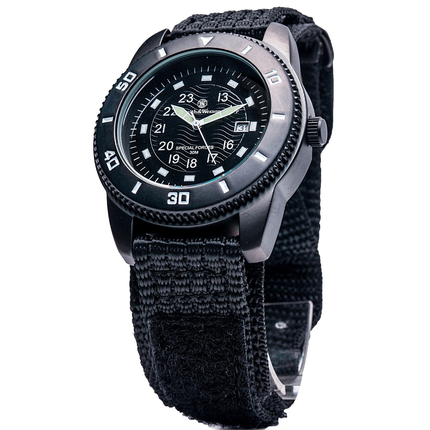Smith & Wesson Uhr - Modell Commando WEEE-Reg.-Nr. DE93223650