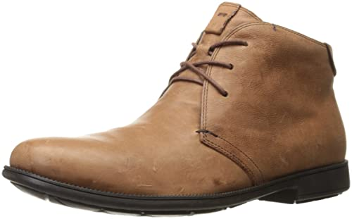 Camper Mil 36587 – 048 Tobillo Botas Hombres, Color marrón, Talla 46 E U(