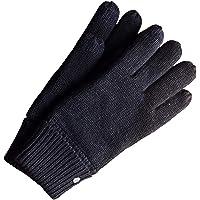 AKAROA ESTD 2019 gebreide handschoenen Bob, touchscreen-cover, heren winterhandschoen van 50% wol (Merino) en 50% katoen…