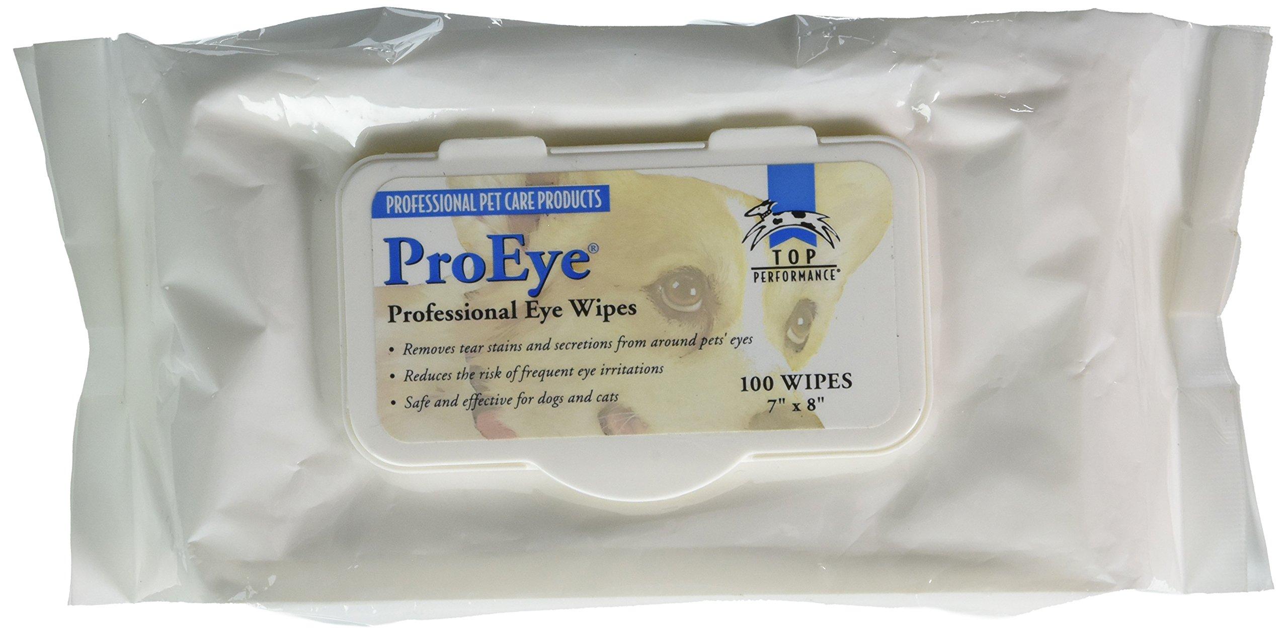 Top Performance Eye Wipe Bag 100-Pack