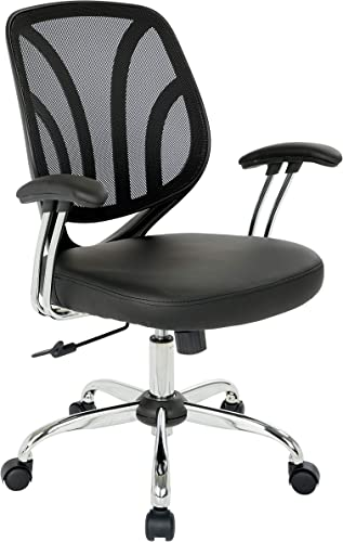 OSP Home Furnishings Screen Back Office Task Chair