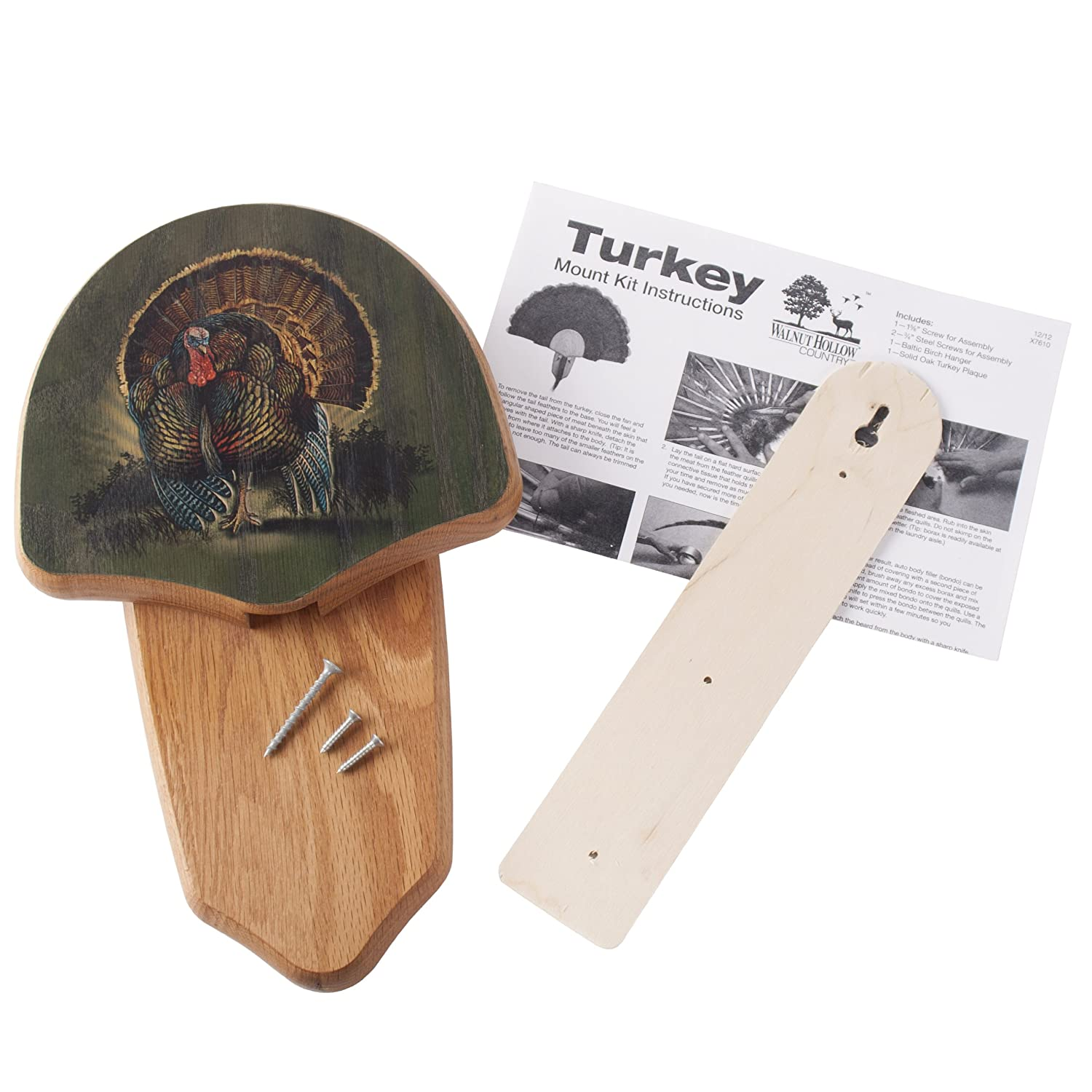 Amazon Walnut Hollow Country Turkey Fan Mount Display Kit