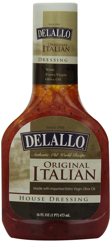 Amazon.com : DeLallo Italian House Dressing, 16-Ounce Unit (Pack of ...