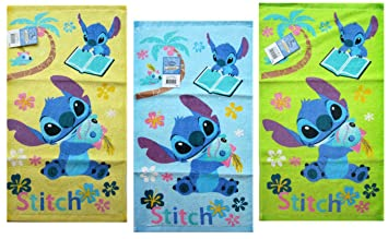 Lilo and Stitch Hand Toallas (Assorted 3 Piece Set) - Assorted Lilo and Stitch Dish Toallas: Amazon.es: Juguetes y juegos