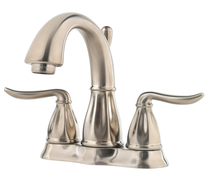Pfister F048LT0K Sedona 2-Handle 4 Inch Centerset Bathroom Faucet in Brushed Nickel