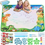 Infinno Aqua Magic Doodle Mat Extra Large Water Drawing Mat Kids Painting Writing Doodle Coloring Mat Educational Toys Gifts