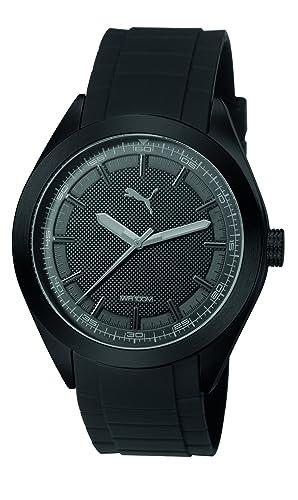 19495f55e7fa PUMA Reloj Analógico para Hombre de Cuarzo con Correa en Plástico  PU103321006  Amazon.es  Relojes