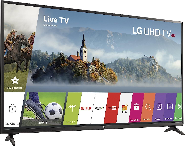 Amazon Com Lg Electronics 49uj6300 49 Inch 4k Ultra Hd Smart Led Tv 2017 Model Electronics