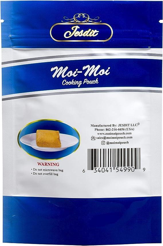Moi Moi Cooking Pouch-100/% BPA Free leak proof 25pcs Agidi Ekuru .