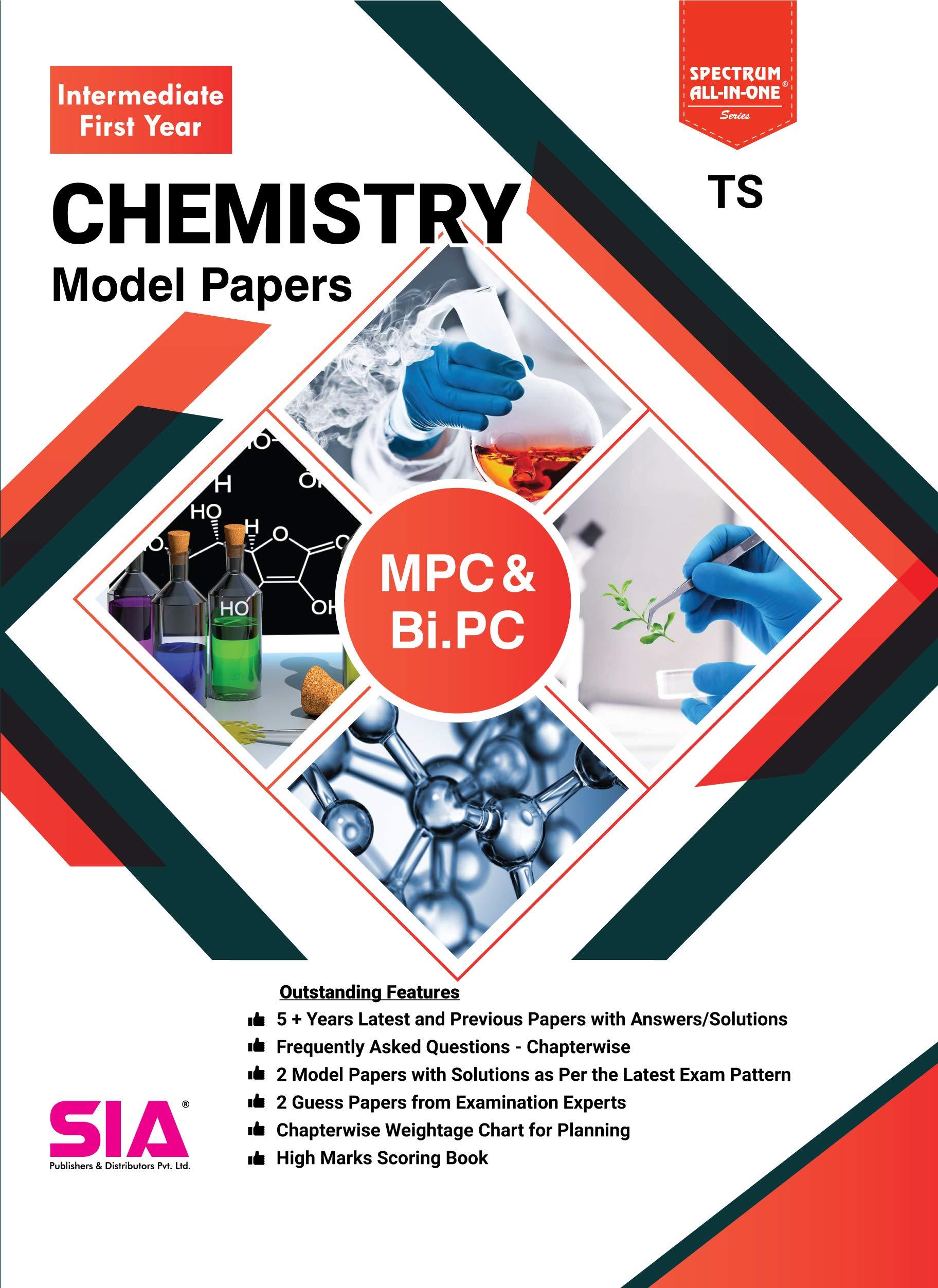 Amazon in: Buy CHEMISTRY (INTER - First Year) M P C & Bi PC