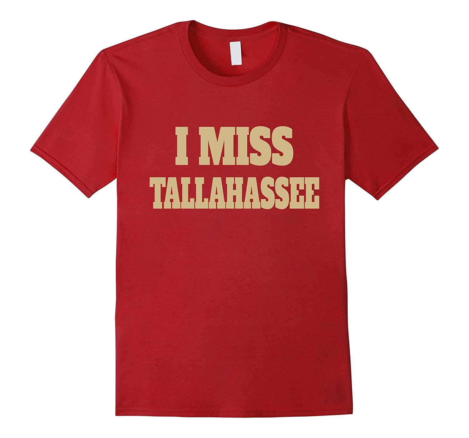 I Miss Tallahassee Gold University Alumni T-Shirt-ANZ