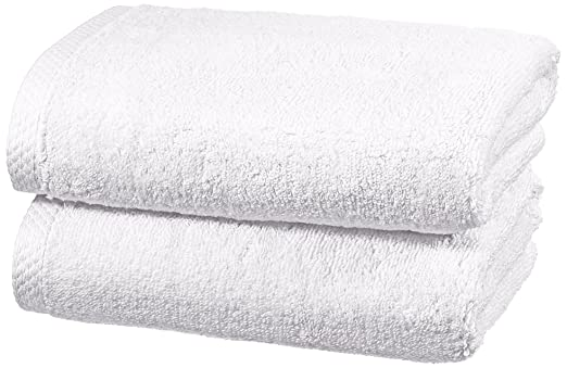 26 opinioni per AmazonBasics- Set di asciugamani ad asciugatura rapida, 2 pezzi, 2 asciugamani-