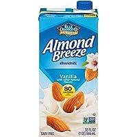 Almond Breeze Dairy Free Almondmilk, Vanilla, 32 FL OZ