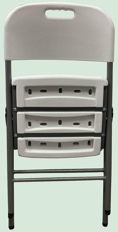 46.5 x 45 x 85.5 cm Homelux 710092 Silla Plegable Resina