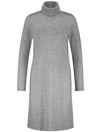 d22fe53db39651 Gerry Weber Damen Kleid Strick Strickkleid Capsule Collection  Asphalt-Grey-Melange 48: Amazon.de: Bekleidung