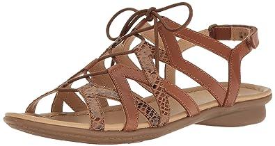 d0cedf4402c48 Naturalizer Women s Whimsy Gladiator Sandal Saddle 6.5 ...